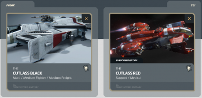 Cutlass Black to Cutlass Red Limited Subscriber Edition Upgrade (1y. ins.)