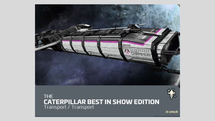 Ship Upgrades - Constellation Andromeda to Caterpillar Best in the show Edition Upgrade