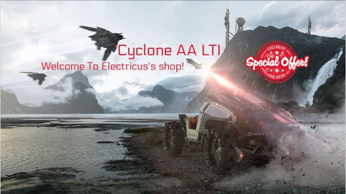 Rare Tumbril Cyclone AA LTI OC