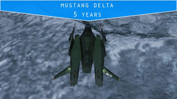 Mustang Delta - (5 years)