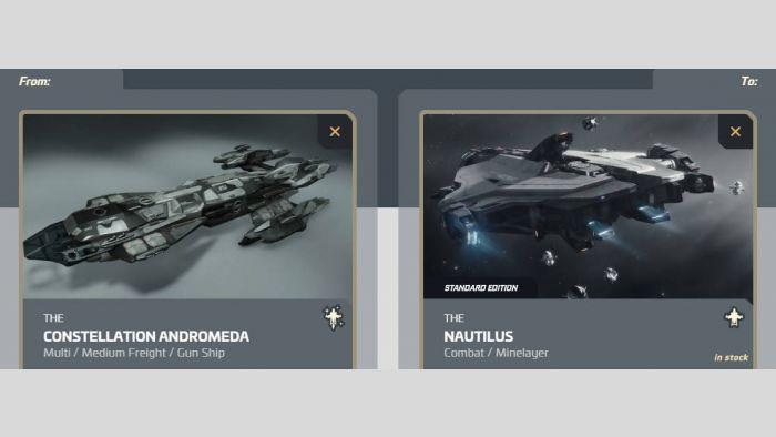 Andromeda to Nautilus Upgrade