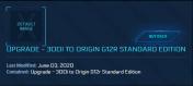 300I to Origin G12R ( CCU )