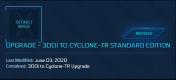 300I to Cyclone-TR ( CCU )