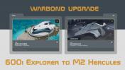 600i Explorer to M2 Hercules Upgrade w/ 10y Insurance