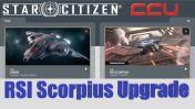 A CCU Upgrade - Aegis Sabre to RSI Scorpius