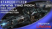 ARGO MOLE Dig Trio Pack: Orion, Mole, Prospector (LTI)