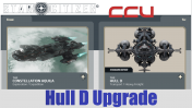 A CCU Upgrade - RSI Constellation Aquila to MISC Hull D