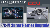 Upgrade - Drake Cutlass Blue to F7C-M Super Hornet (CCU)