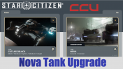 A CCU Upgrade - Drake Cutlass Black to Tumbril Nova Tank