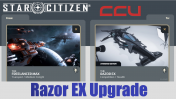 A CCU Upgrade - MISC Freelancer MAX to Razor EX