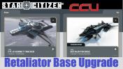 A CCU Upgrade - Anvil F7C-R Hornet Tracker to Retaliator Base