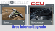 A CCU Upgrade - Anvil Hurricane to Crusader Industries Ares Inferno