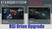 A CCU Upgrade - Argo Mole to RSI Orion