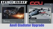 A CCU Upgrade - MISC Prospector to Anvil Gladiator