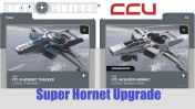 A CCU Upgrade - Anvil F7C-R Hornet Tracker to F7C-M Super Hornet