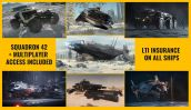 Flash Sale > UEE Exploration Pack - LTI (4 ships, 3 vehicles, both games access)