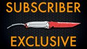 """A Ultiflex FSK-8 """"BloodLine"""" Combat Knife - Subscribers Exclusive"""