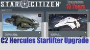 Flash Sale > A CCU Upgrade - Starfarer Gemini to C2 Hercules w/ 10 Years Insurance