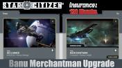 Upgrade - Reclaimer to Merchantman (CCU) with 10 Years Insurance