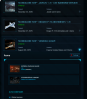 Javelin Account - Vanduul Glaive - Pheonix upgrade - various other ships