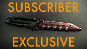 """SawTooth """"BloodStone"""" Combat Knife - Subscribers Exclusive"""