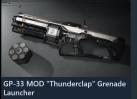 "GP-33 MOD ""Thunderclap"" Grenade Launcher"