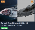 Carrack Expedition w/C8X to RSI Perseus