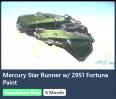 Mercury Star Runner W/ Stella Fortuna Paint