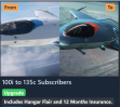 100i to 135C Subs.