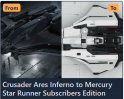 Ares Inferno to Mercury Star Runner