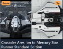 Ares Ion to Mercury Star Runner