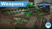 """Venom"" Lightning Bolt Co. Weapons Pack - Subscriber"