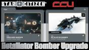 A CCU Upgrade - Vanguard Warden to Retaliator Bomber (CCU)