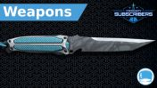 """FSK-8 """"Ghost"""" Combat Knife - Weapon - Subscriber"""