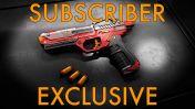 WowBlast Desperado Toy Pistol Red - Subscriber Exclusive