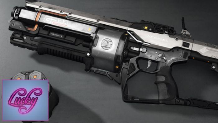 "GP-33 Mod Grenade Launcher ""Thunderclap"" - Concept Art"