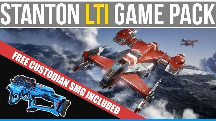Cutlass Red LTI Game Pack - Squadron 42 + Star Citizen + Free Rifle