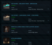 High Admiral Account Featuring Polaris flagship with LTI