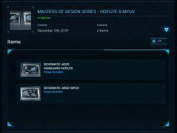 Masters of design series - Hoplite & MPUV