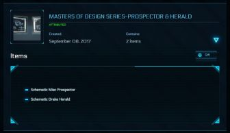 Masters of design series - Prospector & Herald