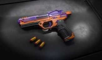 WowBlast Orange Desperado Toy Pistol