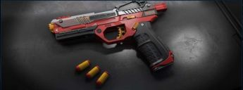 "WoWblast ""Red"" Desperado Toy Pistol - Weapon - Subscriber"
