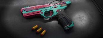 WowBlast Desperado Toy Pistol Teal