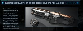 "GP-33 Mod ""COPPERHEAD"" Grenade Launcher"