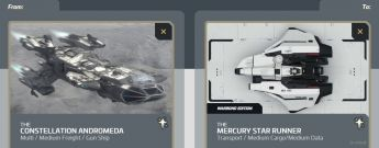 Flash Sale > Constellation Andromeda to Mercury Star Runner upgrade