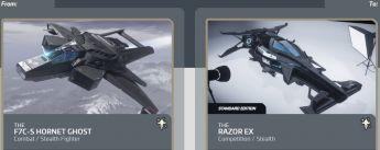 F7C-S Hornet Ghost to Razor EX Upgrade