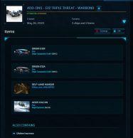 G12 Triple Threat G12 upgraded to Aegis Vulcan ALL LTI