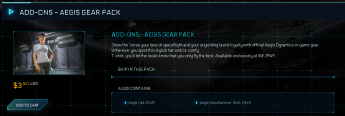 Add-Ons - Aegis Gear Pack