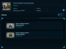 Pack Ultime Collection Avatar - Personal Equipment - LTI