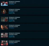 Stegman's Cordimon 'Voyager' Complete Outfit